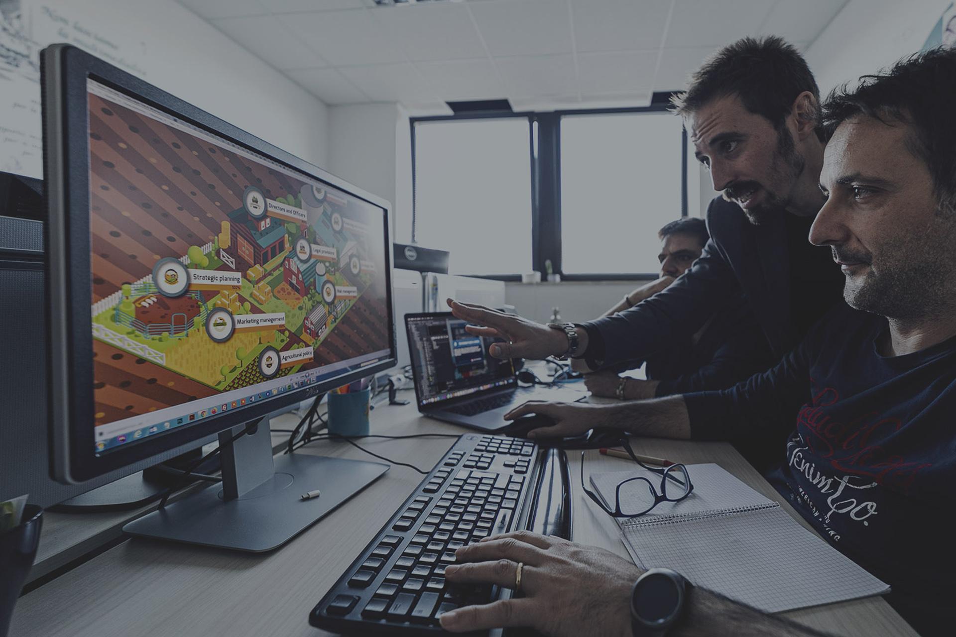 """Sviluppare le competenze sulla <span style=""""color: #b7232b;"""" class=""""underline custom"""">gestione aziendale</span>"""